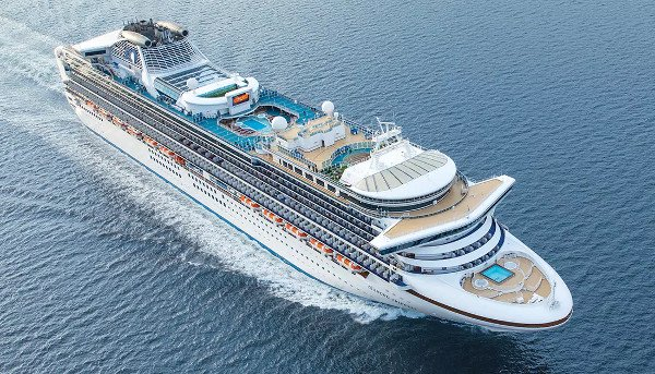 Navio Diamond Princess