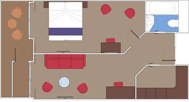 Grand Suite Quadrupla Planta