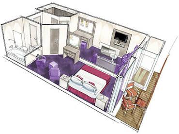 Grand Suite Quintupla Cabine
